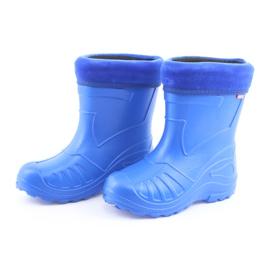 Befado obuwie dziecięce kalosz- chabrowy 162P106 niebieskie 4
