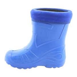 Befado obuwie dziecięce kalosz- chabrowy 162X106 niebieskie 4