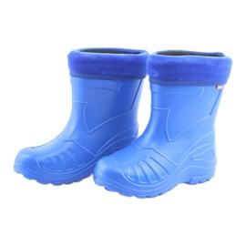 Befado obuwie dziecięce kalosz- chabrowy 162Y106 niebieskie 4