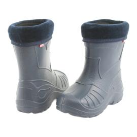 Befado obuwie dziecięce kalosze granatowe 162y103 4