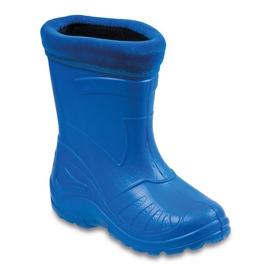 Befado obuwie dziecięce kalosz- chabrowy 162P106 niebieskie 1