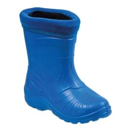 Befado obuwie dziecięce kalosz- chabrowy 162Y106 niebieskie 1