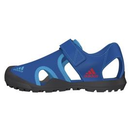 Sandały adidas Capitan Toey Jr BC0703 niebieskie 2