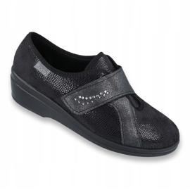 Befado obuwie damskie pu 032D002 czarne 1