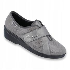 Befado obuwie damskie pu 032D003 szare 1