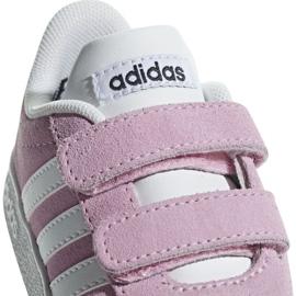 Buty dziecięce adidas Vl Court 2.0 Cmf I Trupnk F F36396 różowe 1