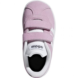 Buty dziecięce adidas Vl Court 2.0 Cmf I Trupnk F F36396 różowe 2