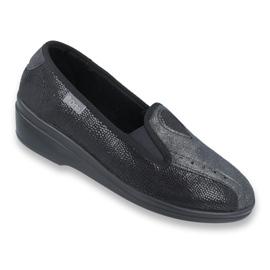 Befado obuwie damskie pu 035D002 czarne 1