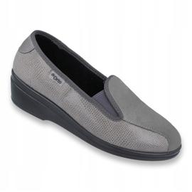 Befado obuwie damskie pu 034D003 szare 1