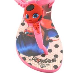 Sandałki Miraculous Ipanema 26283 czarne czerwone różowe 5