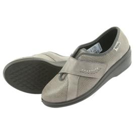 Befado obuwie damskie pu 032D003 szare 6