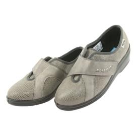 Befado obuwie damskie pu 032D003 szare 4