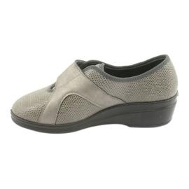 Befado obuwie damskie pu 032D003 szare 3