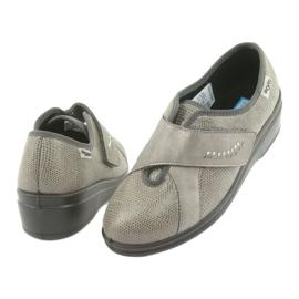 Befado obuwie damskie pu 032D003 szare 5