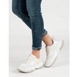 Kylie Modne Białe Sneakersy 6
