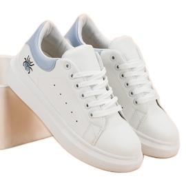Kylie Modne Buty Sportowe białe 4