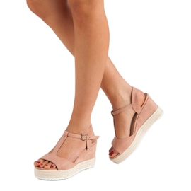 Seastar Różowe Sandały Espadryle 2