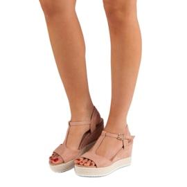 Seastar Różowe Sandały Espadryle 1
