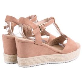 Seastar Różowe Sandały Espadryle 5