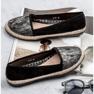Lucky Shoes Czarne Wsuwane Obuwie zdjęcie 3