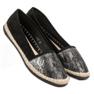 Lucky Shoes Czarne Wsuwane Obuwie zdjęcie 7