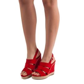 Primavera Czerwone Sandały 2