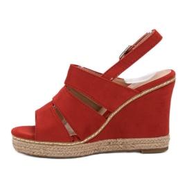 Primavera Czerwone Sandały 1