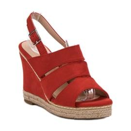Primavera Czerwone Sandały 6