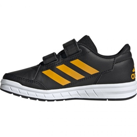 Adidas Buty AltaSport Cf K Jr G27087 czarne 1