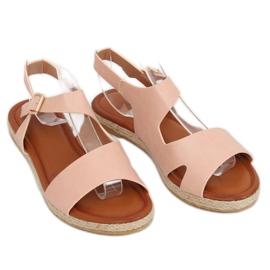 Sandałki damskie różowe H-7 Pink 2