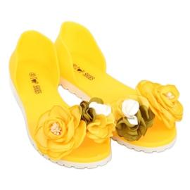 Baleriny meliski żółte W-13 Yellow 3
