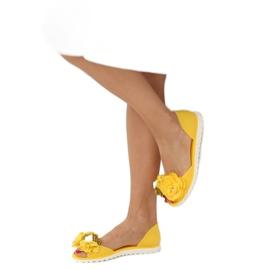 Baleriny meliski żółte W-13 Yellow 2