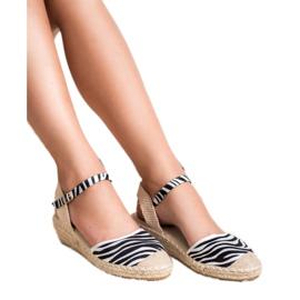 Best Shoes Espadryle Na Koturnie 4