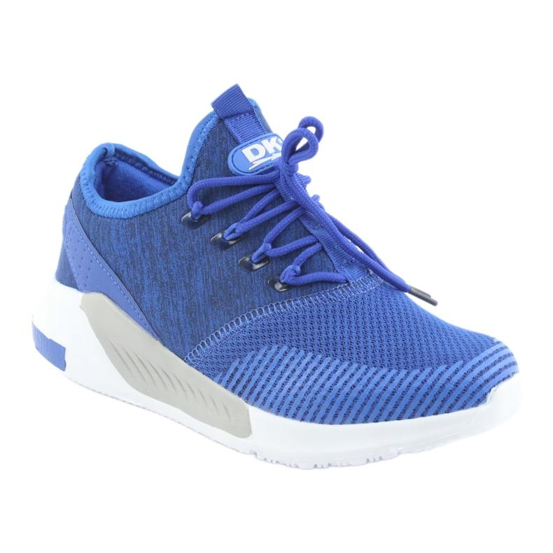 Niebieskie Buty sportowe męskie DK 18470 royal blue zdjęcie 1