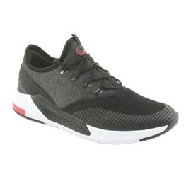 Buty sportowe męskie DK 18470 black/grey 1