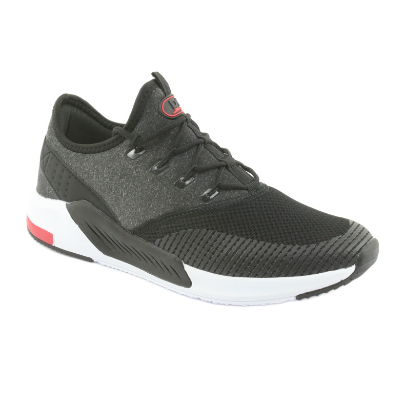 Buty sportowe męskie DK 18470 black/grey zdjęcie 1