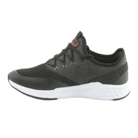 Buty sportowe męskie DK 18470 black/grey 2