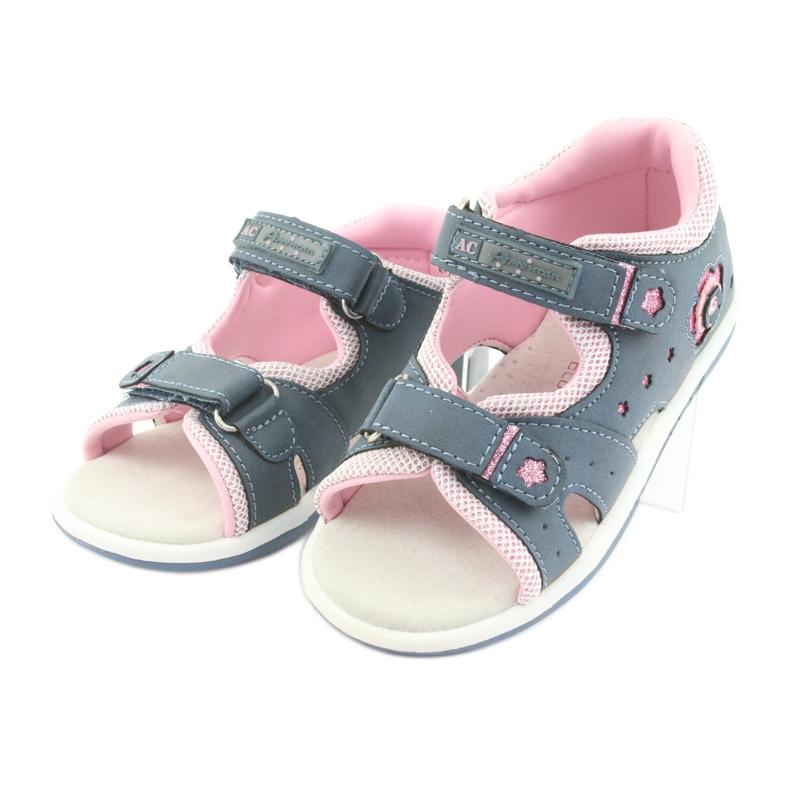 Sandałki dziewczęce American Club DR20 denim zdjęcie 3