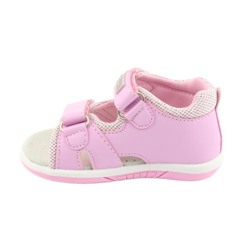 Sandałki dziewczęce American Club DR20 różowe zdjęcie 2