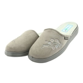 Befado obuwie damskie  pu 132D013 szare 4