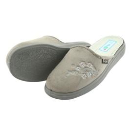 Befado obuwie damskie  pu 132D013 szare 5