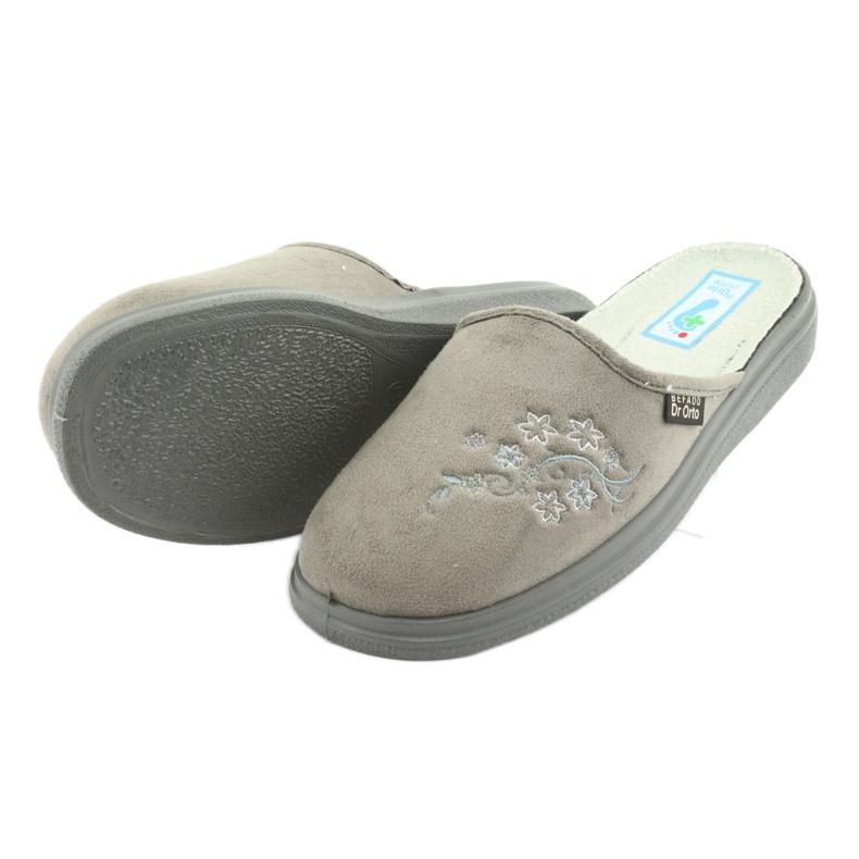 Szare Befado obuwie damskie  pu 132D013 zdjęcie 4