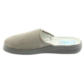 Befado obuwie damskie  pu 132D013 szare 2