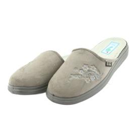 Befado obuwie damskie  pu 132D013 szare 3