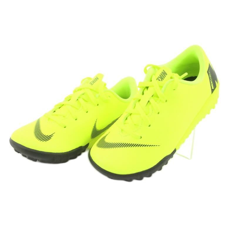 Buty piłkarskie Nike Mercurial VaporX 12 Academy Tf Jr AH7353-701 zdjęcie 3