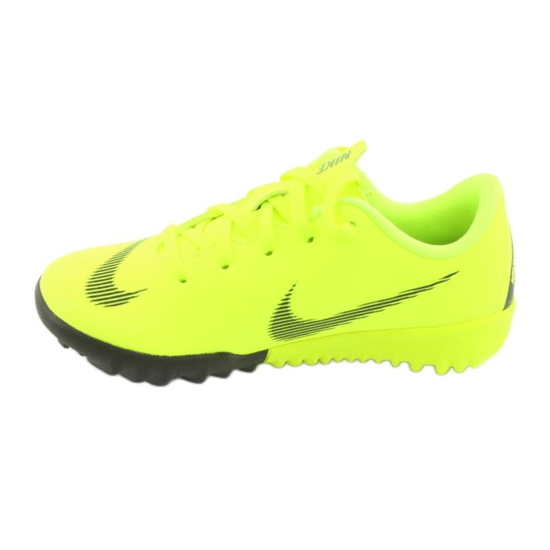 Buty piłkarskie Nike Mercurial VaporX 12 Academy Tf Jr AH7353-701 zdjęcie 2