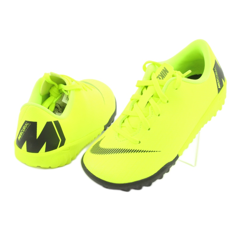 Buty piłkarskie Nike Mercurial VaporX 12 Academy Tf Jr AH7353-701 zdjęcie 4