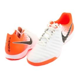 Buty piłkarskie Nike Tiempo LegendX 7 Academy Tf M AH7243-118 białe 3