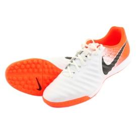 Buty piłkarskie Nike Tiempo LegendX 7 Academy Tf M AH7243-118 białe 4