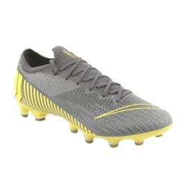 Buty piłkarskie Nike Mercurial Vapor 12 Elite Ag Pro M AH7379-070 szare szare 1